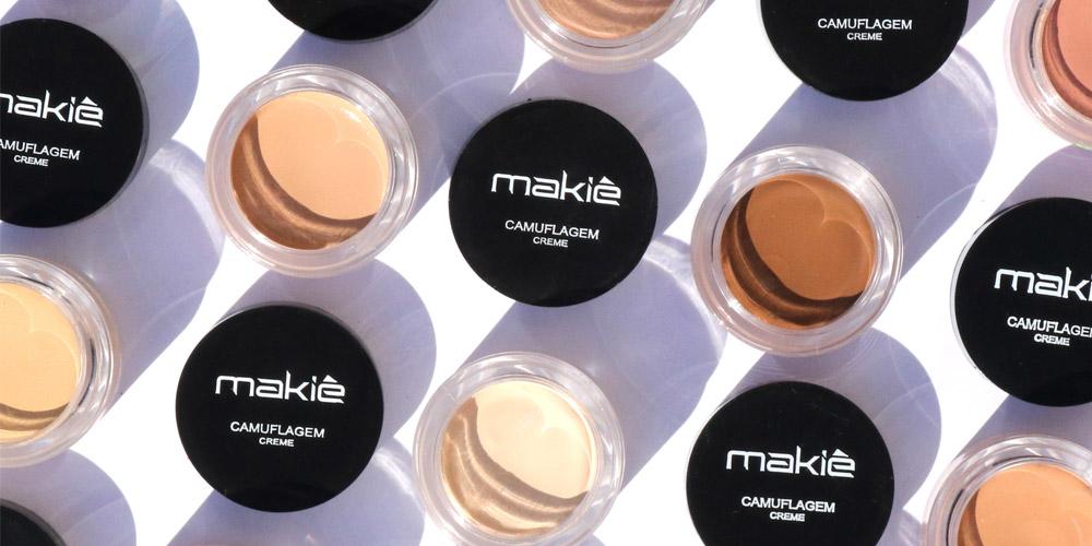 Imagem ilustrando a camuflagem makiê no artigo como usar corretivo colorido na make.